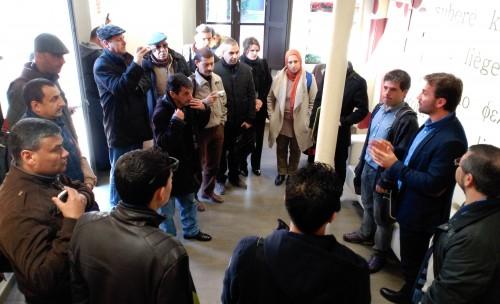 Visita algerians a l'ICSuro