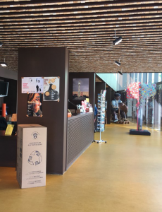 Hall del Museu del Suro de Palafrugell